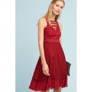 Anthropologie Tango Lace Dress new